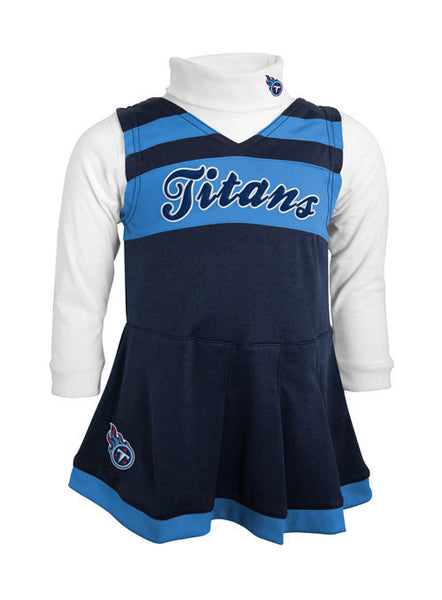 Toddler Titans Cheerleader Jumper
