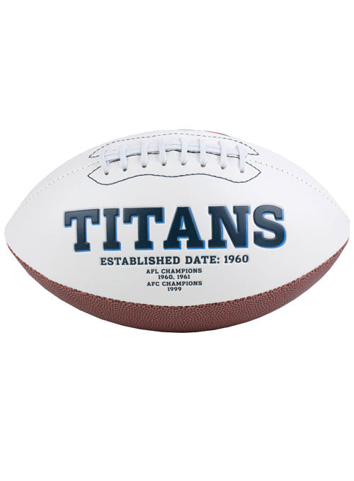 Titans Signature Series Football
