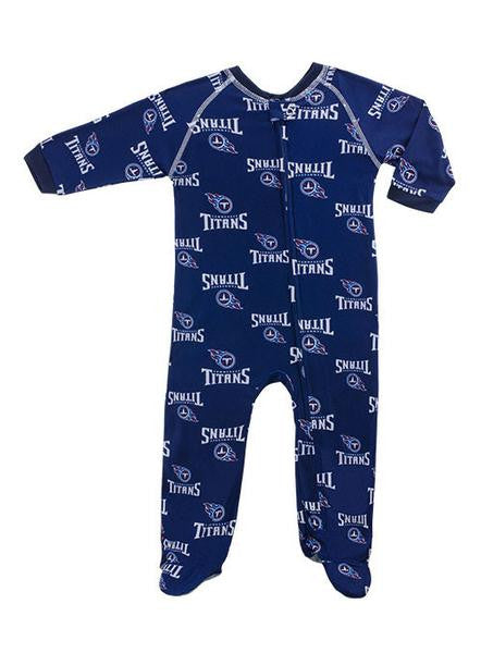 Infant Full Zip Titans Coverall