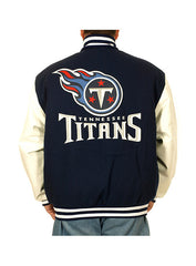 Titans Wool & Leather Jacket