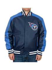 Titans Wool/ Leather  Jacket