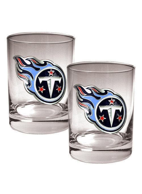 Titans 14 oz. 2 Pack Glass Set