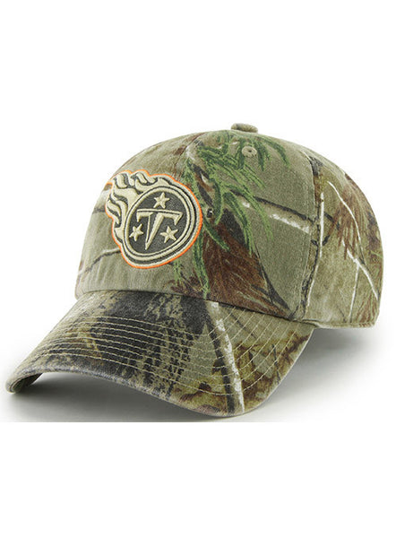 new arrival 05183 d0d5a  47 Titans Real Tree Cleanup Hat