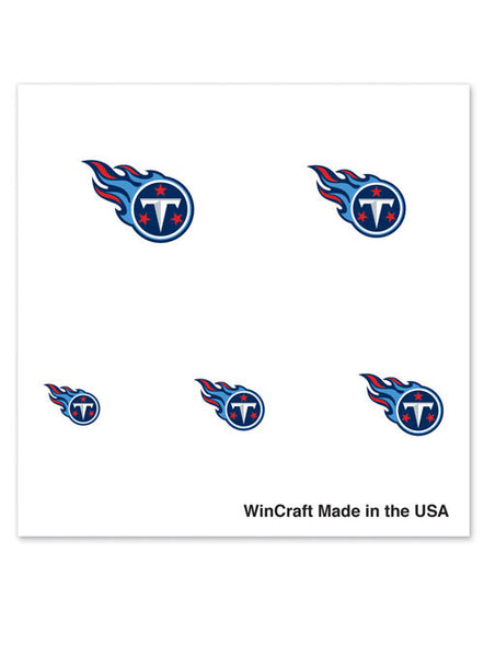 Titans Fingernail Tattoos