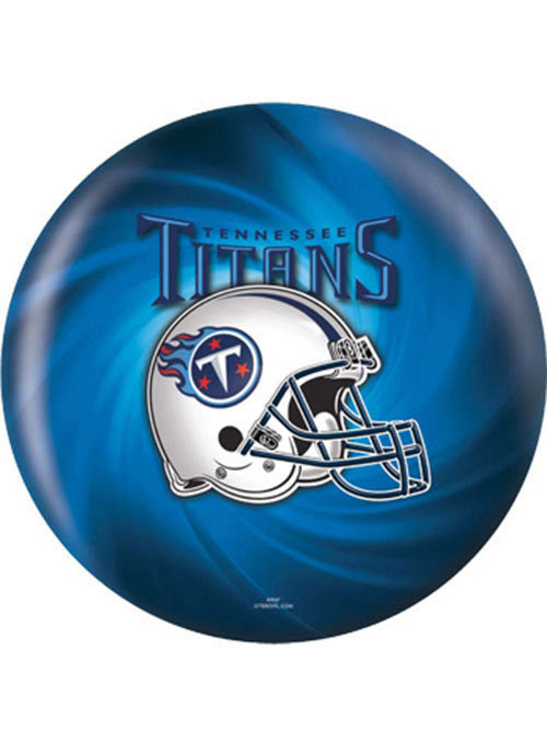 Titans Bowling Ball by KR Strikeforce