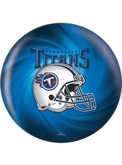 Tennessee Titans Bowling Ball by KR Strikeforce