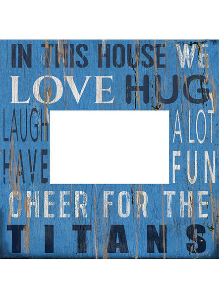 Titans 10''x10'' In This House Frame