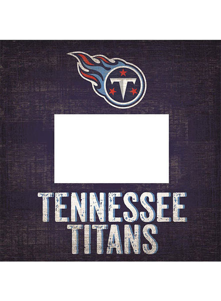 Titans 10''x10'' Team Name Frame