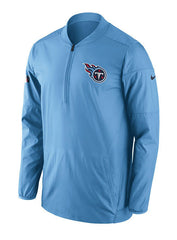 Nike Titans Sideline 1/2 Zip Lockdown Jacket