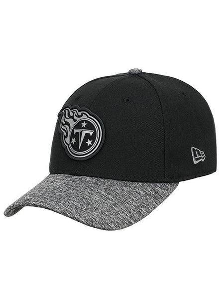 New Era Titans Tonal Logo Heathered 39THIRTY Flex Hat