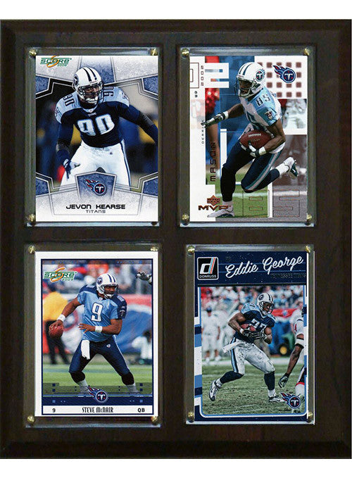 "Titans All-Time Greats  8""x10"" Plaque"