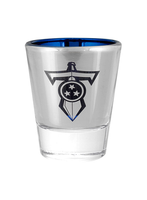 Titans 2 oz. Sword Logo Shot Glass