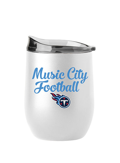 Titans 16 oz. Curved Music City Football Tumbler