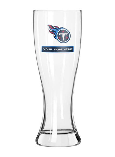 Titans Personalized 23 oz. Full Color Pilsner