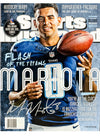 Titans Marcus Mariota Autographed Sports Illustrated Magazine