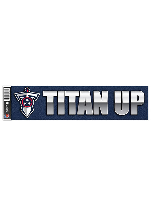 Titans 3 x 12 Titan Up Bumper Sticker