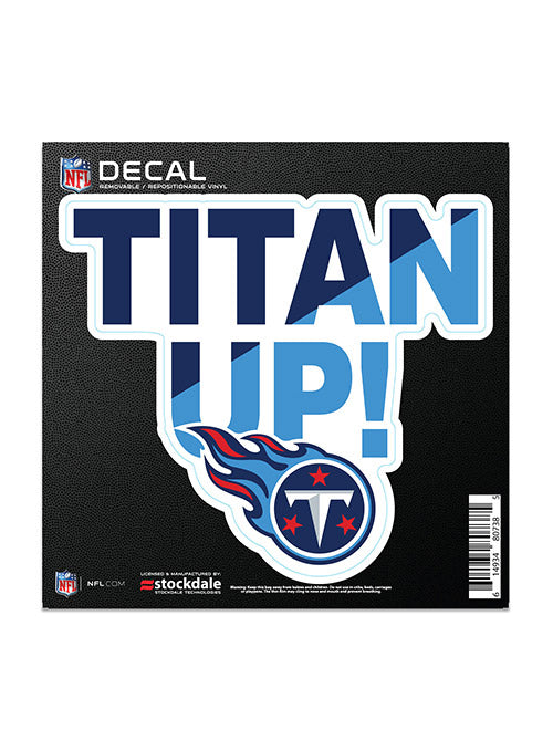 Titan Up All Surface 6x6 Decal