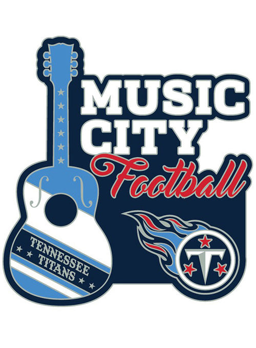 Titans Music City Hatpin
