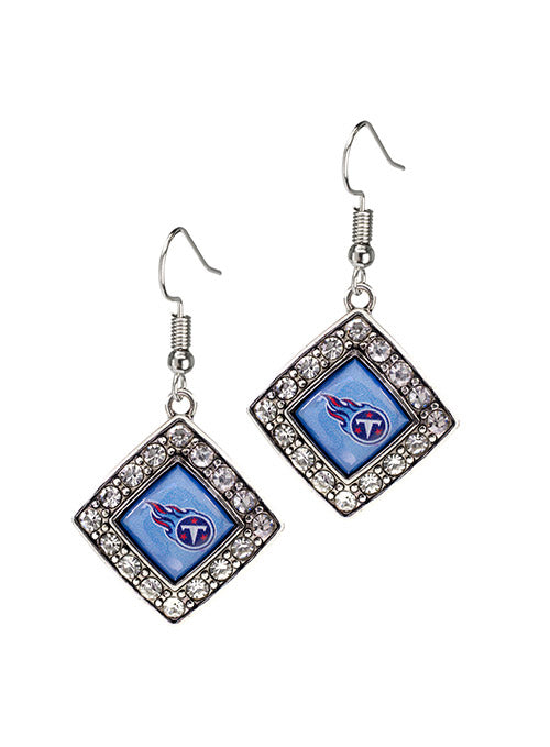 Titans Diamond Crystal Earrings