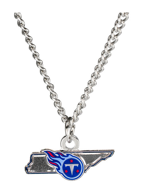 Titans State Outline Necklace