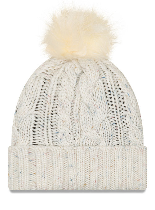 New Era Titans Fuzzy Pom Knit Hat