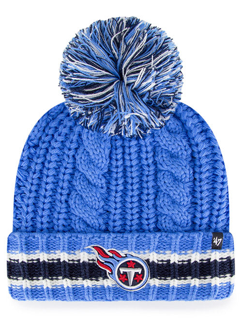 Titans '47 Brand Ladies Sorority Cuff Knit Hat