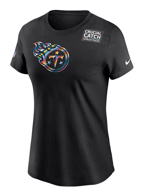 Ladies Nike Titans Crucial Catch T-Shirt