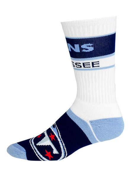 Titans Stripe Crew Socks