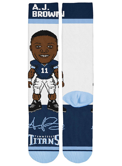 Titans A.J. Brown Signing Bonus Sock