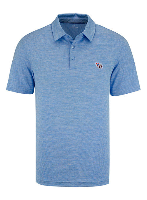 Tennessee Titans Vineyard Vines Primary Logo Destin Striped Sankaty Polo