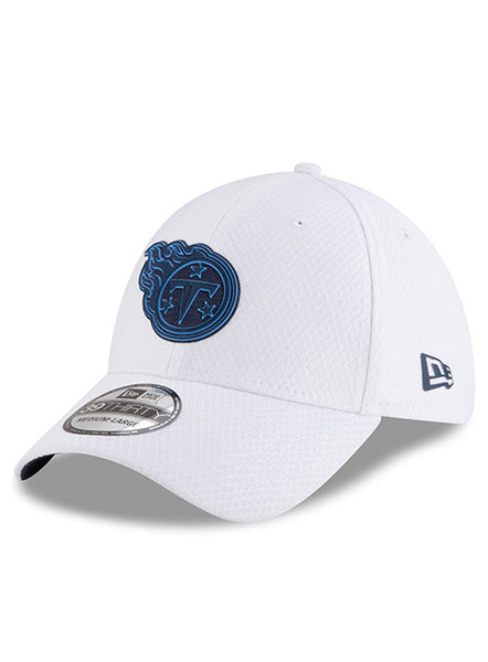 New Era Titans 2018 Training White 39THIRTY Flex Hat