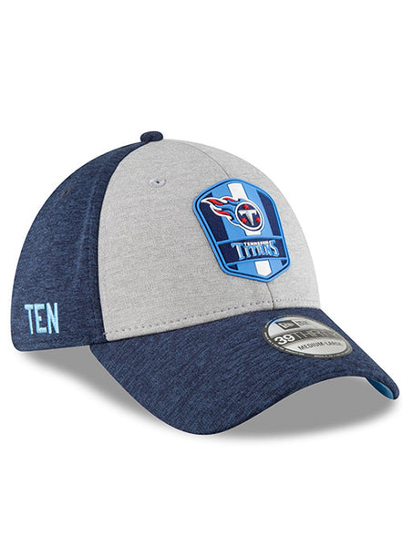 New Era Titans 2018 Sideline Road 39THIRTY Flex Hat  0f2fa66644c6