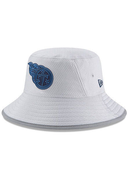 New Era Titans 2018 Gray Training Bucket Hat