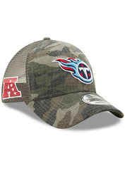 New Era Titans Woodland Trucker Duel 9FORTY Hat