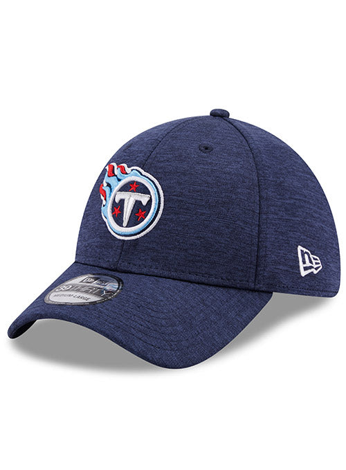Titans New Era Shadow Tech Navy 39THIRTY Flex Hat