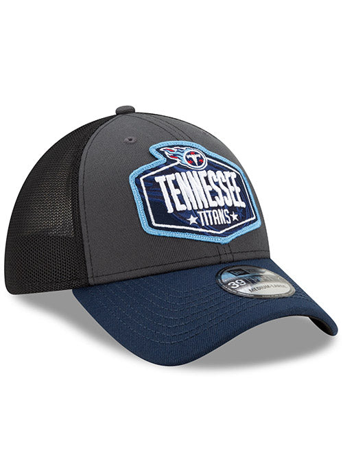 New Era Titans 39THIRTY 2021 NFL Draft Flex Hat