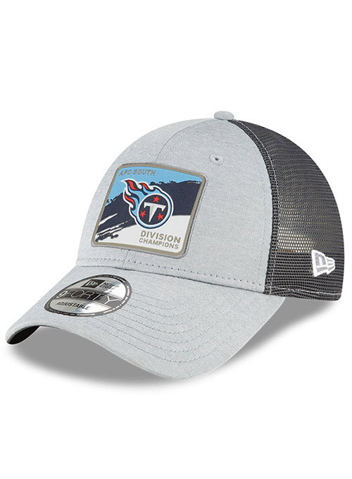 Titans New Era 2020 AFC South Division Champions Locker Room 9FORTY Adjustable Hat