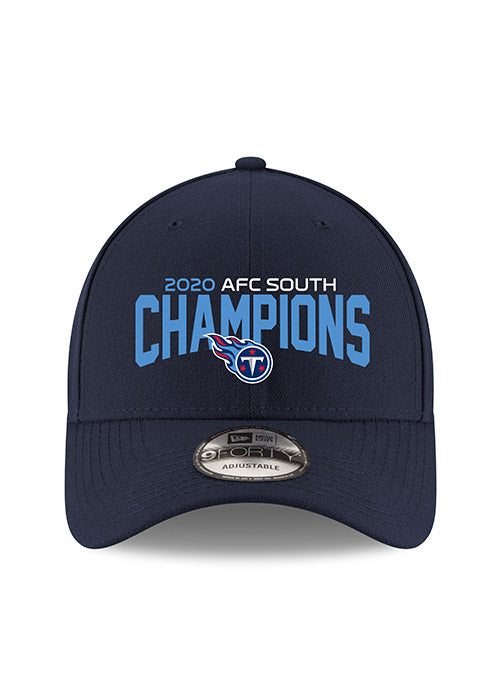 Titans New Era 2020 AFC South Division Champions 9FORTY Adjustable Hat