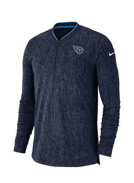 Nike Titans 1/2 Zip Sideline Coaches Jacket