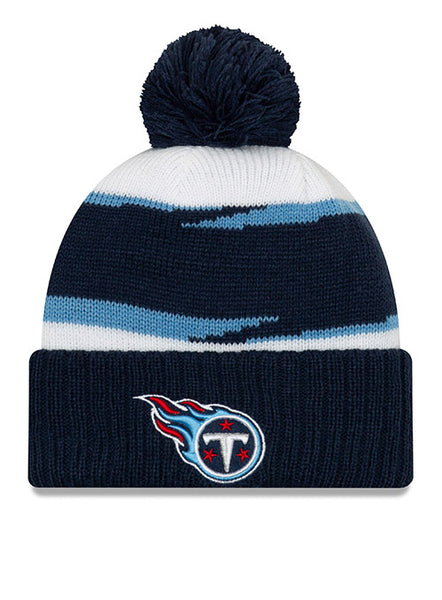 2c334864a2e New Era Titans 2018 Thanksgiving Sideline Knit Hat
