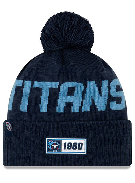 New Era Titans 2019 Sideline Road Knit