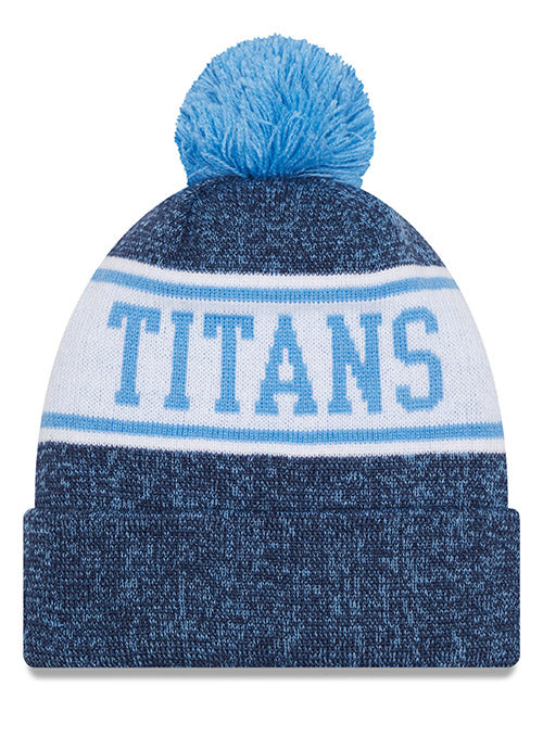 Titans New Era Navy Banner Knit