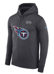 Nike Titans Crucial Catch Hooded Sweatshirt