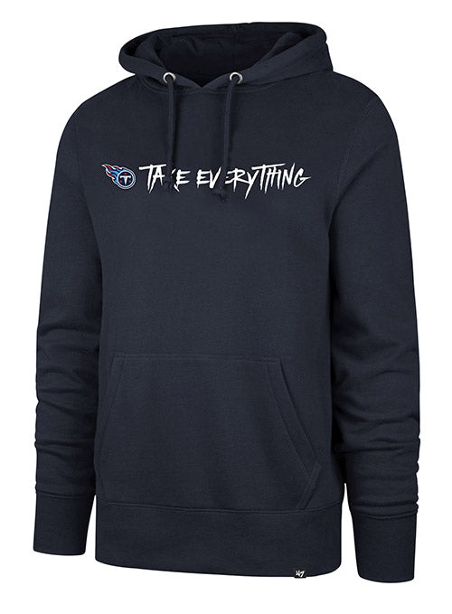 '47 Brand Titans Take Everything Playoff Club Hooded Sweatshirt
