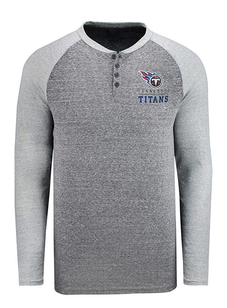 Concept Sports Titans Long Sleeve Henley