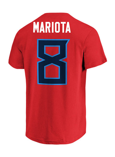 huge discount f45ae d3b8a Titans Marcus Mariota Player T-Shirt II | Men's Titans T-Shirts | Titans  Locker Room