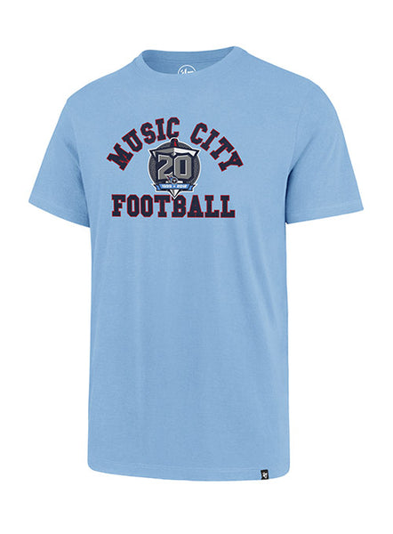 '47 Brand Titans Music City Football T-Shirt