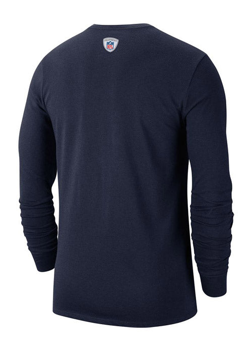 Nike Tennessee Titans Sideline Property Of Performance Long Sleeve T-Shirt