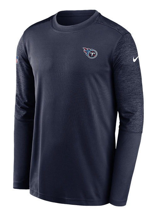 Nike Titans Sideline Coaches UV Long Sleeve T-Shirt