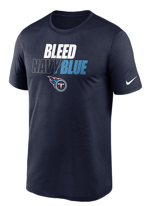 Nike Titans Bleed Team Color Legend T-Shirt
